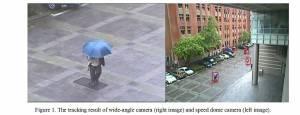 固定式廣角攝影機與高速球型攝影機之校正與自動